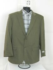 David Taylor Mens Taupe Sport Coat Blazer Size 42R Two Buttons Wool Blend NWT