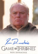 Game of Thrones Season 4 Autograph Card Ron Donachie as Ser Rodrik Cassel