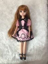 9 inch LICCA head + body+dress+ shoes Girls Kids Great Gifts