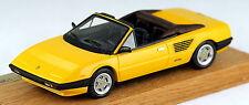 Rare 1/43 scale FYP Creations Ferrari Mondial 8 cabriolet 1985 Pinifarina yellow