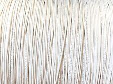 WHITE 30 AWG Gauge Stranded Hook Up Wire 1000 FT REEL UL1007 300 Volt