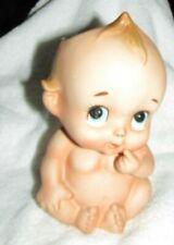 New listing Vintage Lefton Ceramic Kewpie Doll Naked Baby Planter Vase