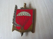 INSIGNE  regiment parachutiste infanterie marine        ref  A