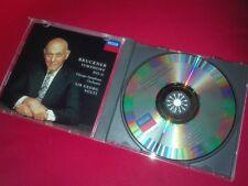 BRUCKNER: Symphony n°0 > Chicago SO Georg Solti / Decca Japan CD