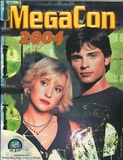MegaCon Program Book 2004-Allison Mack-cover-guest & artist bios-VF/NM