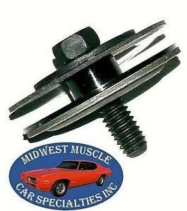 GM Door & Rear Quarter Window Regulator Side Glass Bolt Washer & Steel Nut 1p PS
