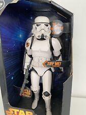 STAR WARS storm trooper talking stormtrooper, 15+ phrases, interactive new