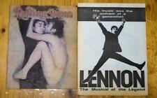 John Lennon - Rolling Stone 1981 Special & 'The Musical of the Legend' Program