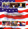 Central African Rep 2015 CTO Hillary Clinton US Elections 6v M/S Stamps