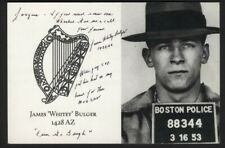 "James Whitey Bulger Signed Letter ""If you need someone Whacked, Give me a call"""