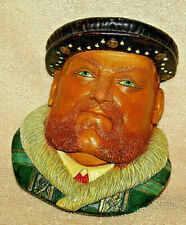 Legend Products- King Henry Viii chalkware head- England 1982