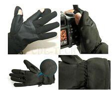 Photography antistatic Gloves For Nikon Camera D7100 D800 D5200 D4 D3200 D90 D80