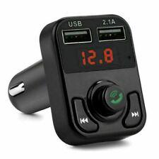 Fm Bluetooth Transmitter Auto Mp3 Kfz Dual USB Ladegerät Adapter Radio für Handy