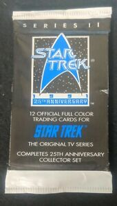 1991 Star Trek 25th Anniversary Original TV Series by Impel Series II Pack 12/pk