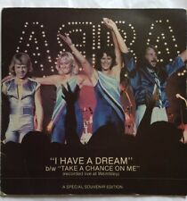 """ABBA - I Have A Dream  - Epic Records GatefoldPicture Sleeve 7"""" Single EPC 8088"""