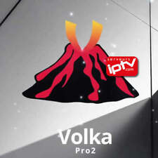 VOLKA PRO2  CODE 12 MOIS (smart tv, box android,m3u smart tv mag)  de 5 a 10min