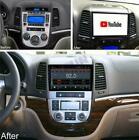 """9"""" Android 10.1 Car Radio Stereo GPS Nav Player For 2005-12 Hyundai Santa Fe US"""