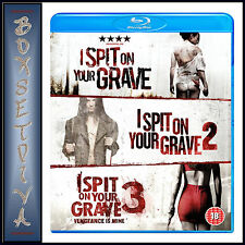 I SPIT ON YOUR GRAVE TRILOGY - 1 2 & 3  **BRAND NEW BLU-RAY BOXSET **