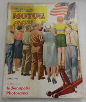 Chilton's Motor Age Magazine Indianapolis Photorama June 1956 040317nonr