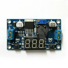 LM2596 Step Down Converter Module Buck DC-DC 4-40v to 1-37V + LED Voltmeter USA