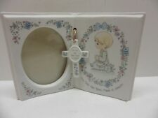 """Precious Moment Photo Frame 1992 This Day Has Been Made In Heaven"""" Vtg Boy"""