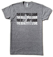 Beautiful Game soccer world cup American Apparel tri-blend t-shirt Small