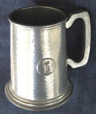 "Beer Stein Mug ""WARRIC"" Made in England"