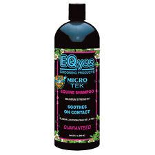 Eqyss Micro Tek Equine Medicated Shampoo 32oz pet dog horse