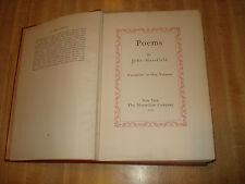 Wonderful 1930 Vintage book - Poems by John Masefield