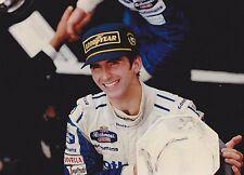 1994 Formula 1 Rothmans Williams Renault Damon Hill Portugese Gp Press Photo