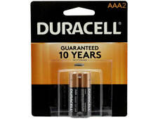 2 Pack Duracell AAA Alkaline 1.5V Batteries Exp. 2028