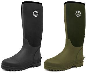 Lakeland Active Women's Neoprene Waterproof Wellington Boots Mucker Yard Rain