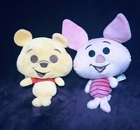 """Winnie The Pooh And Piglet Bobble Head Plush 7"""""""