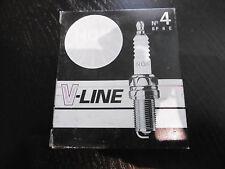 4x ZÜNDKERZE NGK V-LINE No. 4 BP6E NEU OVP