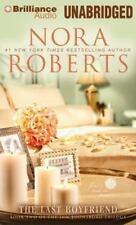 THE LAST BOYFRIEND unabridged audio book on CD by NORA ROBERTS