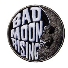 Kreepsville 666 Bad Moon Rising Emo Punk Goth Embroidered Iron On Patch PBMR