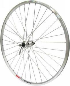 ALEX DOUBLEWALL 700c Hybrid Bike Silver REAR Wheel 135mm Shimano Cassette Hub