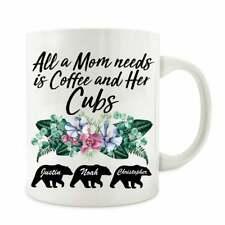Personalized Mama Bear Mug Mama Bear Coffee Mug Gift For Mother's Day Bear Cubs