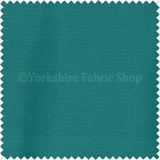 Smooth Soft Silk Feeling Ocean Teal Blue Shine Upholstery Material Fabric 329