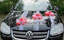 1 Girlande für Dekoration von Brautauto, Autoschmuck, Hochzeit, Autodeko AM006