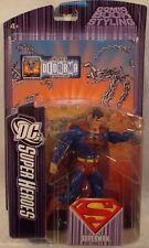 """DC Superheroes S3 Select Sculpt Series 5 - 6"""" Superman Red & Black Emblem (MOC)"""