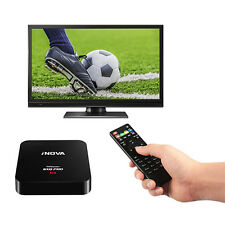 2017 Android 6.0 Smart TV BOX SXQ Quad Core Media 4K Movies Sports 1G+8G