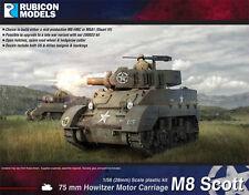 Rubicon Scott-M8/M5A1 STUART - 1/56 28 mm-WW2 US Tank-RU015