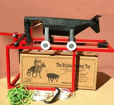 $200 Original Cowboy Toy with Roll-a-Roper Wheels and Launching Chute Rope Dummy