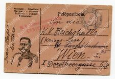 Feldpostkarte K.u.k Feldpost Castelnuovo di Cattaro #4987