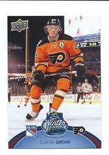 2012/13 UD Series One - 4x6 card Winter Classic - Claude Giroux # WC1
