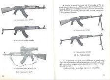 Original Yugo army manual for SKS M59, M70 (AK47), M72 rifles
