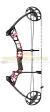 """Mission by Mathews Radik Compound Bow Right Hand Pink Spl DL 17-28"""" DW 10-50 Lbs"""