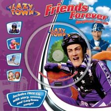 Friends Forever (LazyTown) (Book & CD)-