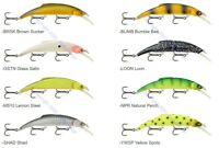 Matzuo Floating / Diving Kinchou Minnow Pike & Musky Lure (Select Size & Color)